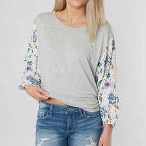 Buckle Daytrip Pieced Top S